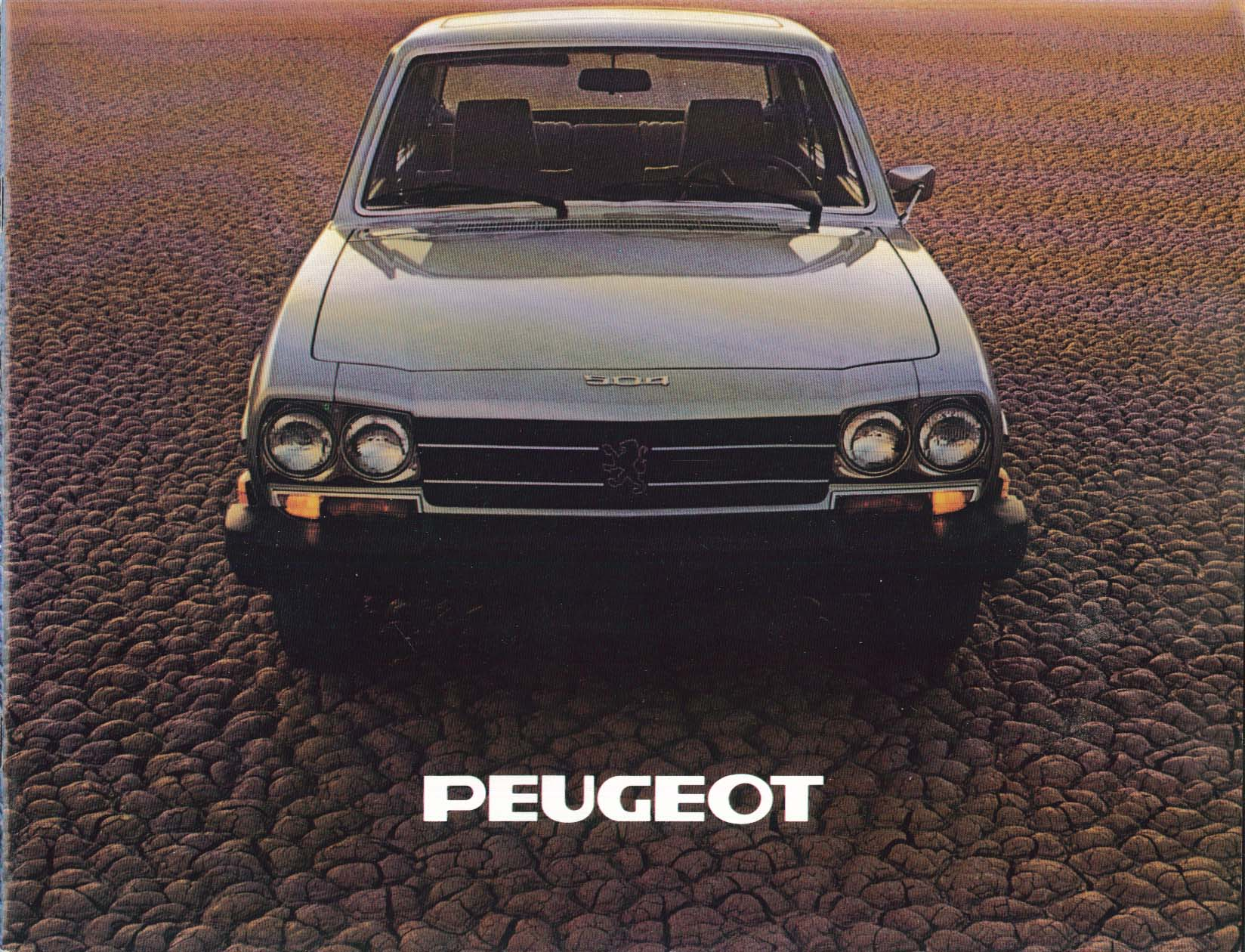 Image for 1979 Peugeot 504 Gas Diesel & Wagon brochure