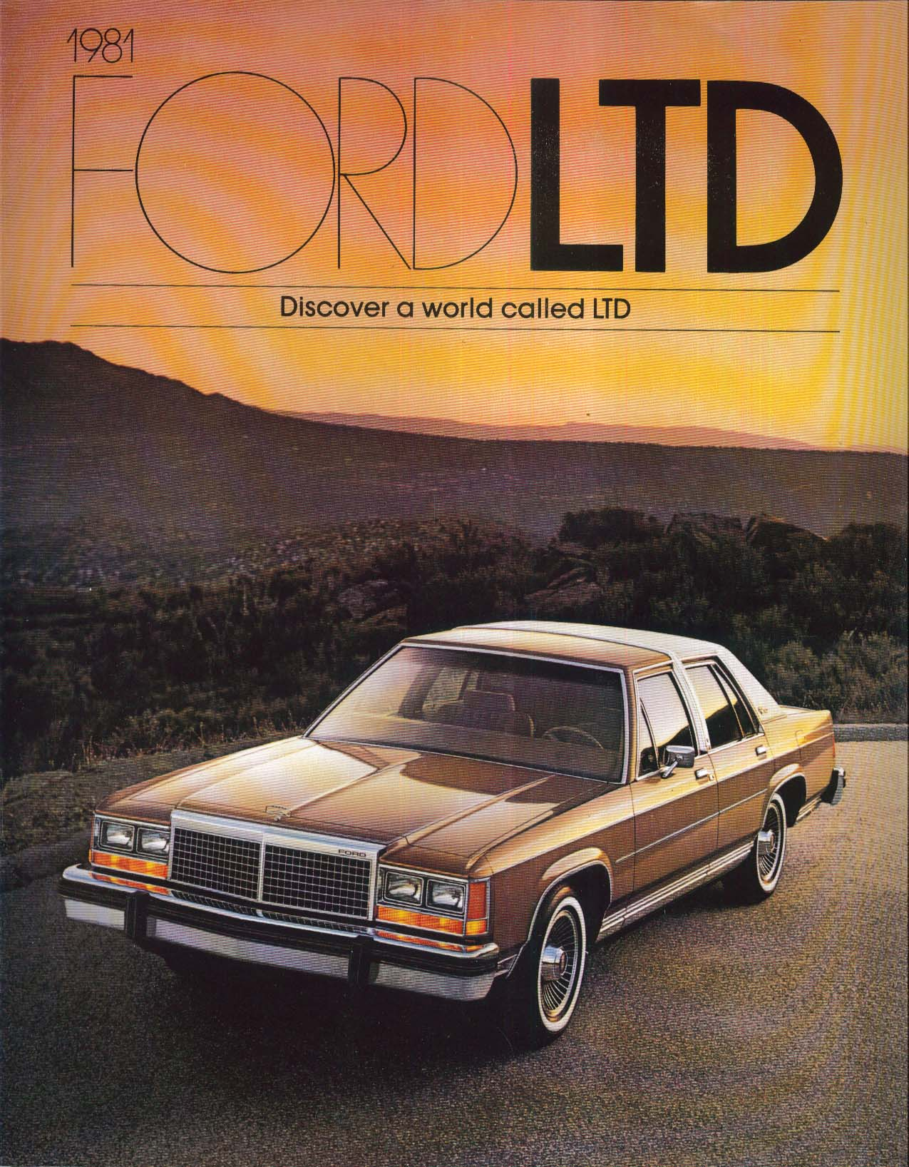 1981 Ford LTD catalog: Crown Victoria +