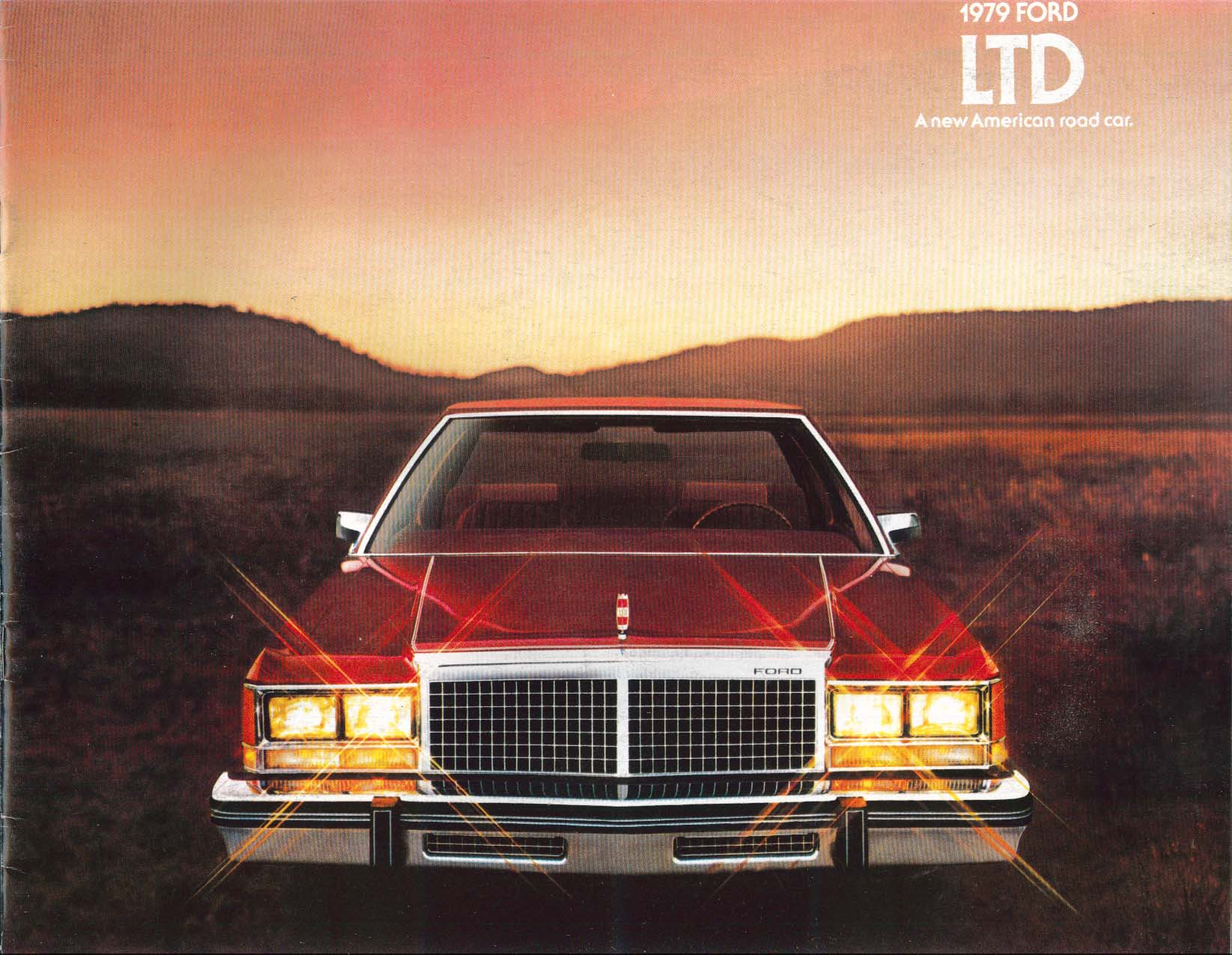 1979 Ford LTD catalog: LTD Landau Wagons sales brochure