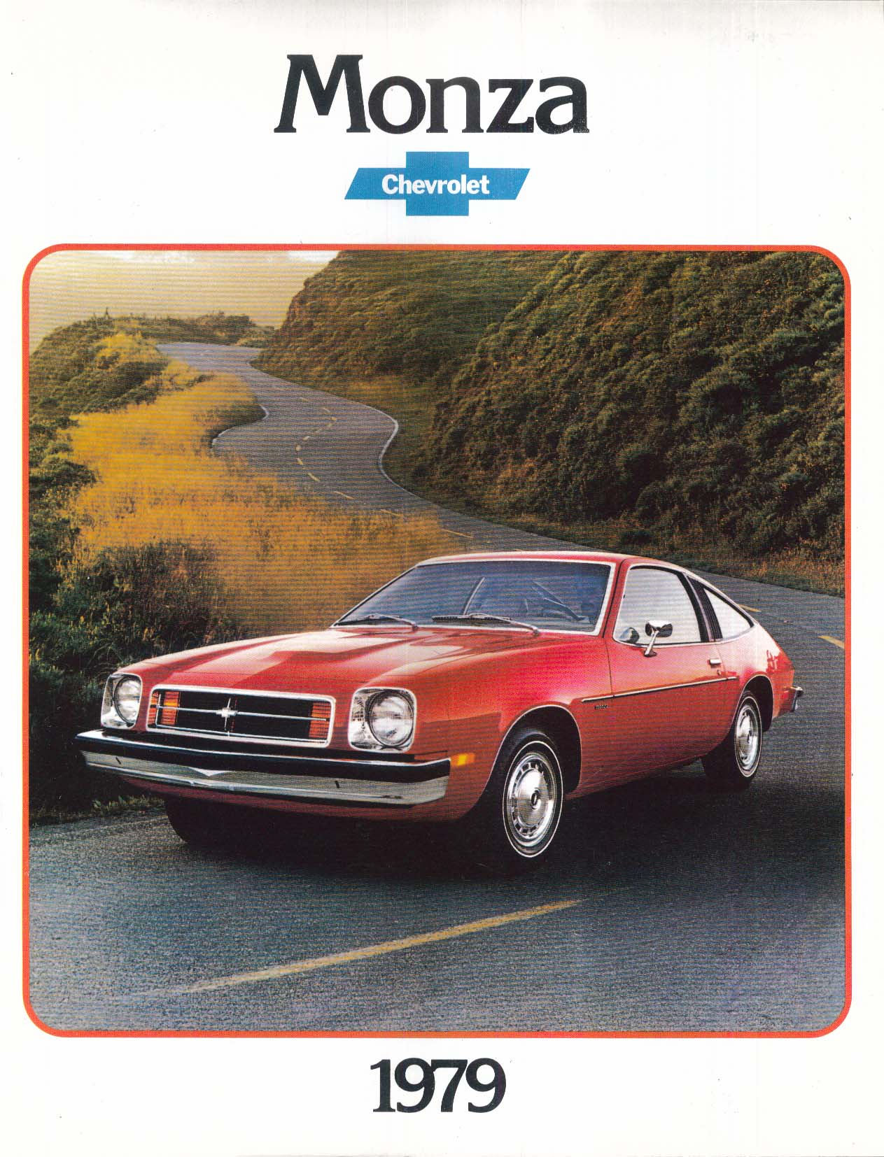 1979 Chevrolet Monza + Spyder sales brochure