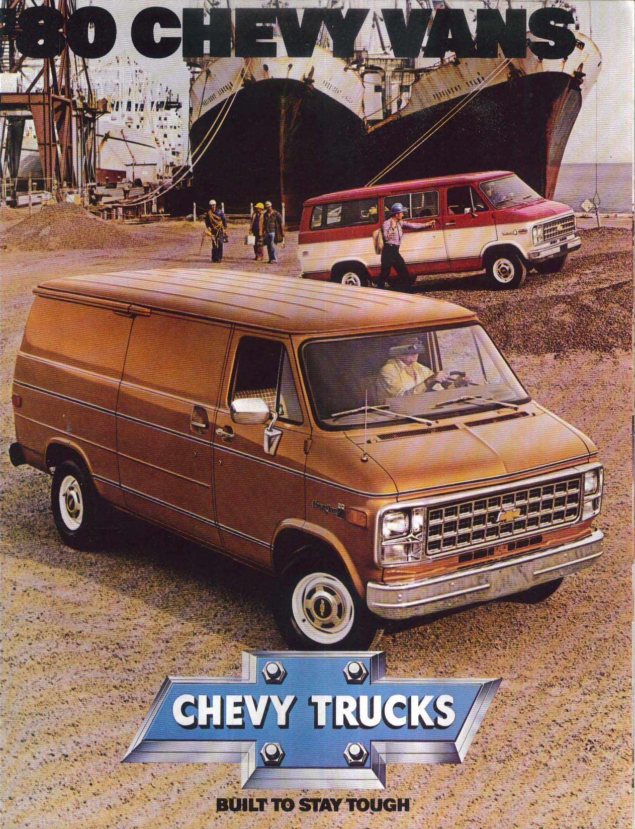 Image for 1980 Chevrolet Vans sales brochure: Nomad Caravan Sportvan ++