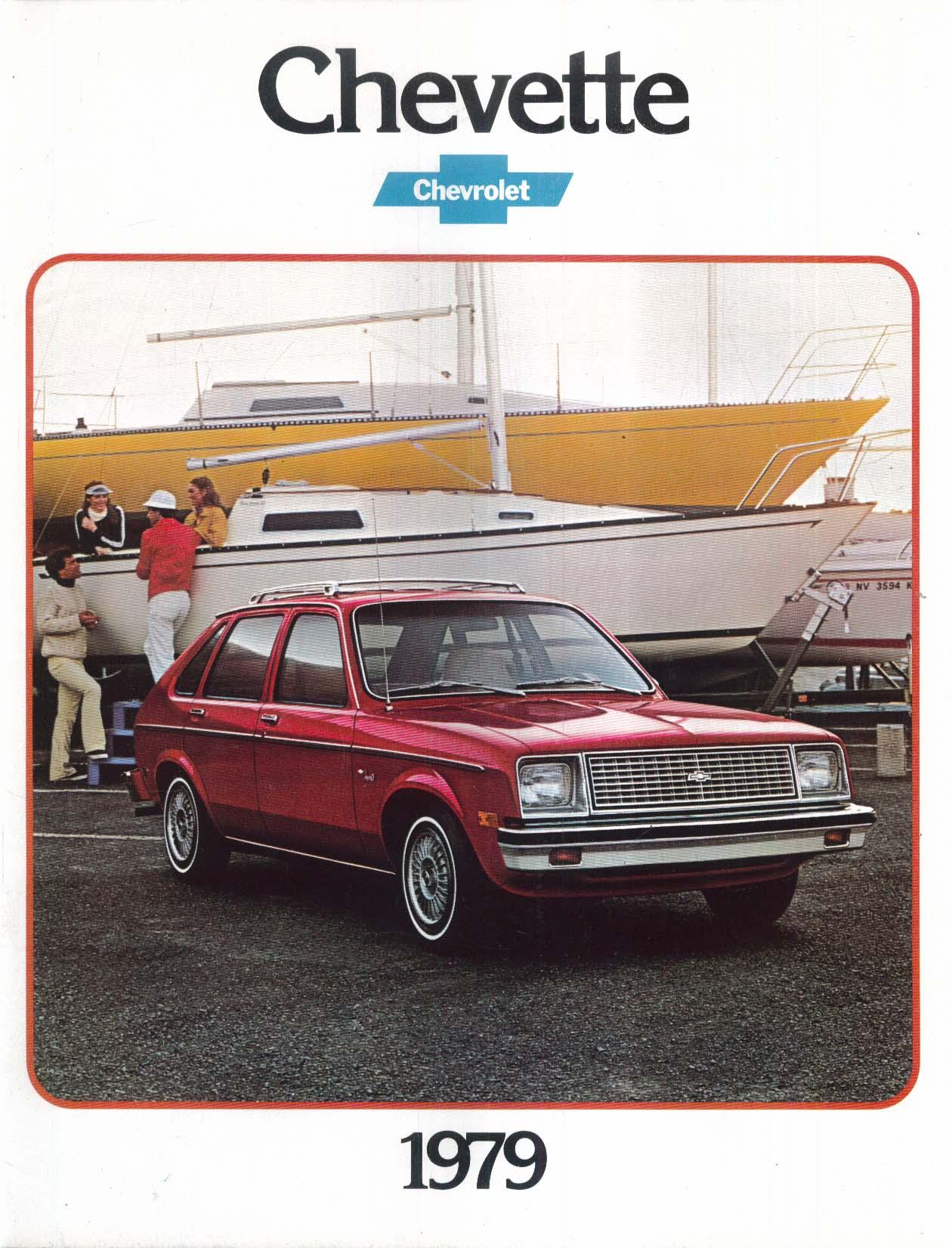 Image for 1979 Chevrolet Chevette sales brochure