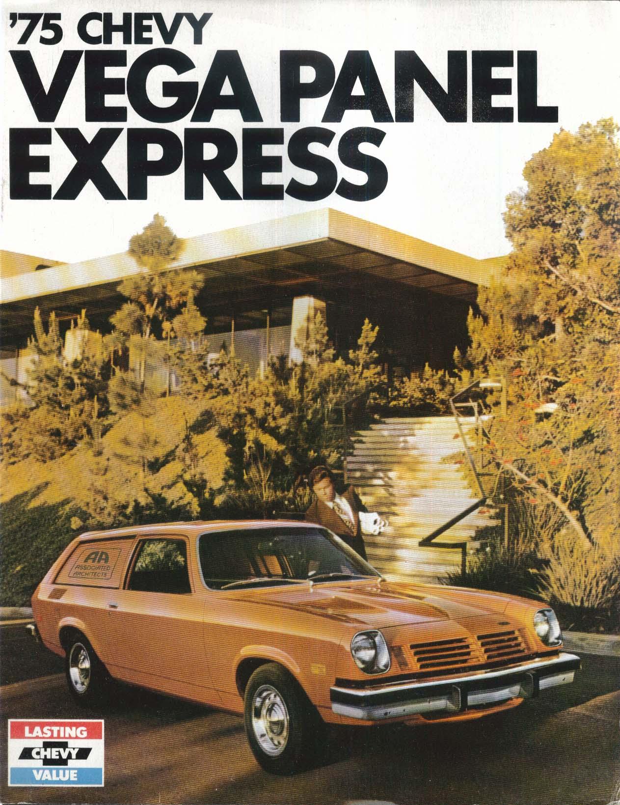 Image for 1975 Chevy Vega Panel Express sellsheet