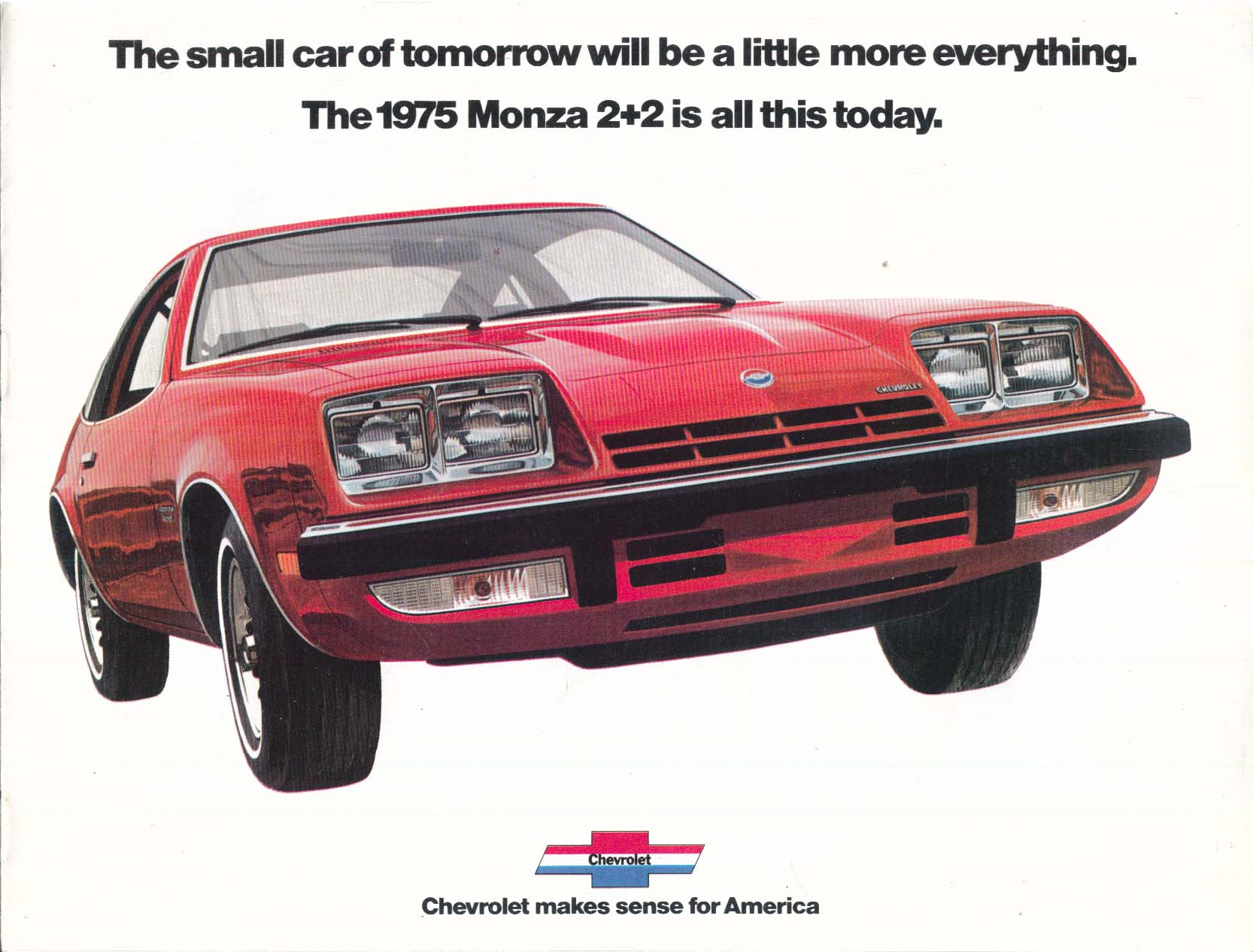 1975 Chevrolet Monza 2+2 sales brochure