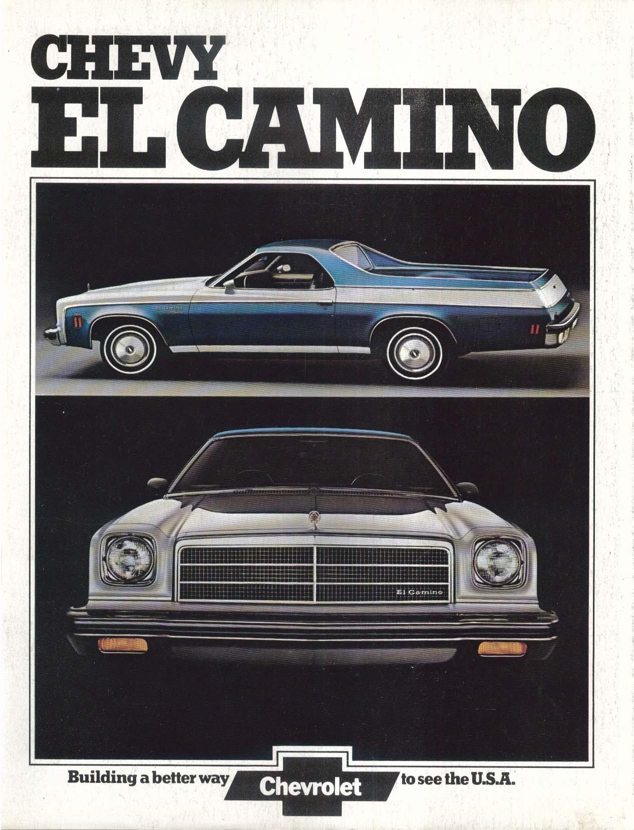Image for 1974 Chevrolet El Camino sales brochure
