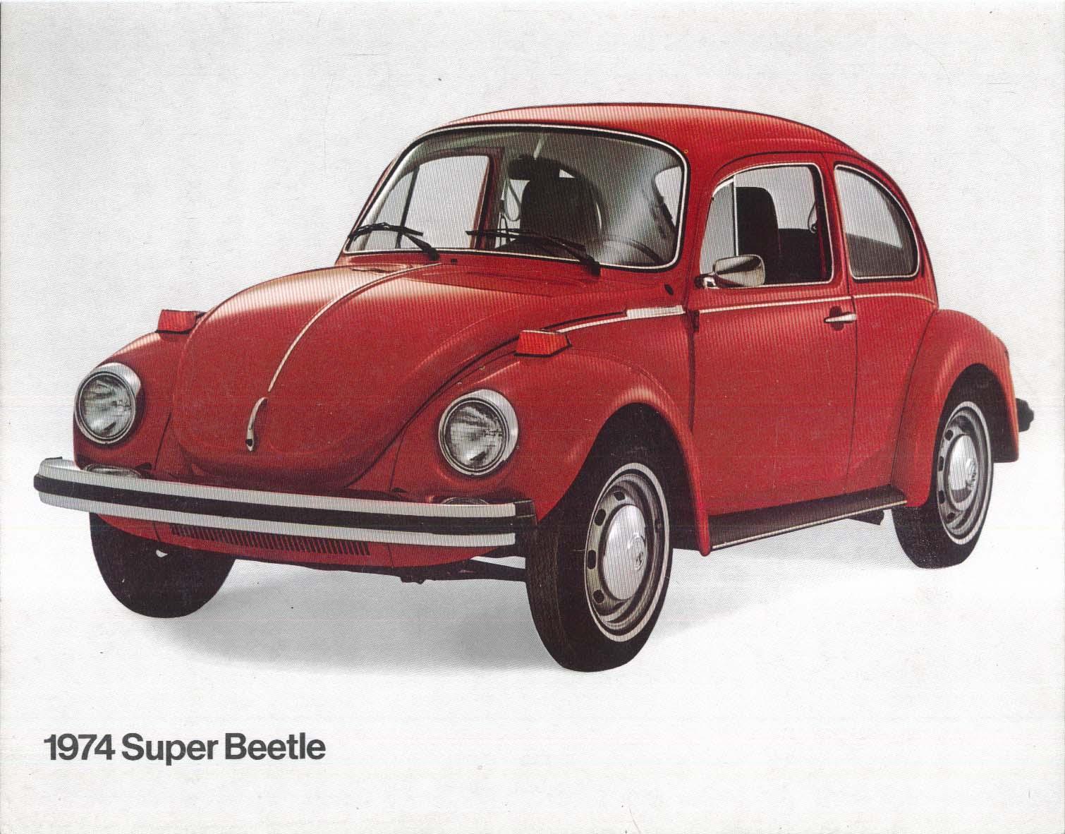 Image for 1974 Volkswagen Super Beetle sell sheet 33-11-46030