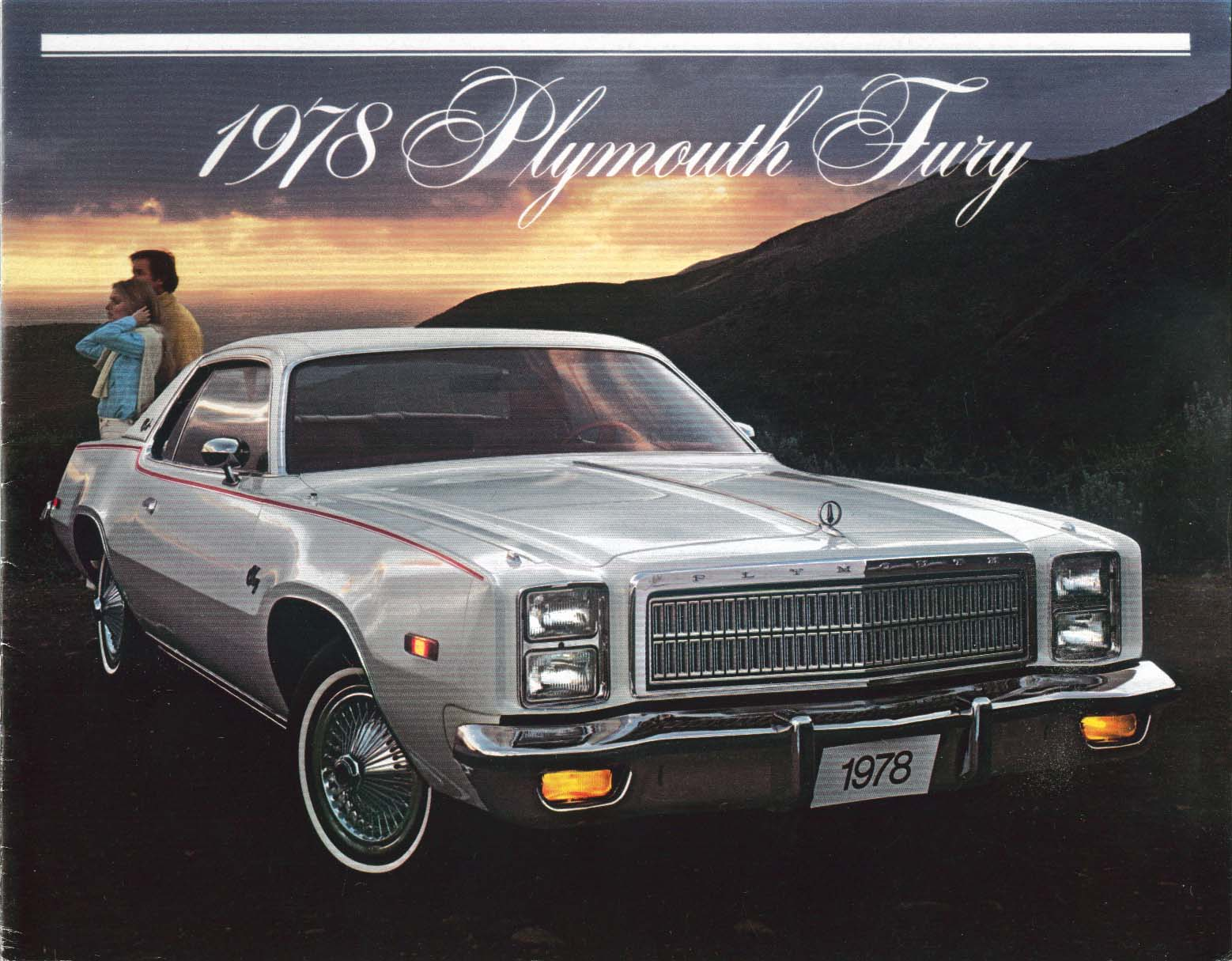 Image for 1978 Plymouth Sport Salon Suburban Fury sales brochure