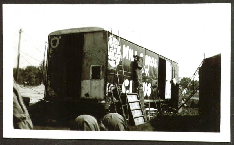 Prop Truck? Mills Bros Circus photo Frankfort IN 1948
