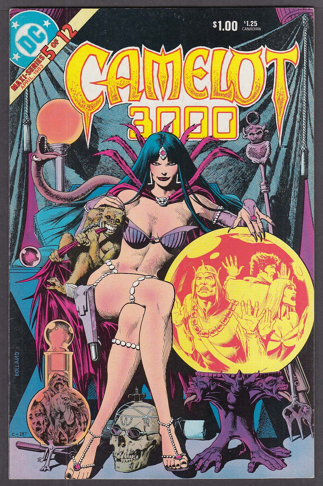 CAMELOT 3000 #5 DC comic book 4/1983