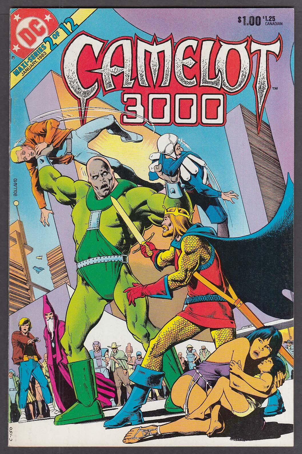 CAMELOT 3000 #2 DC comic book 1/1983