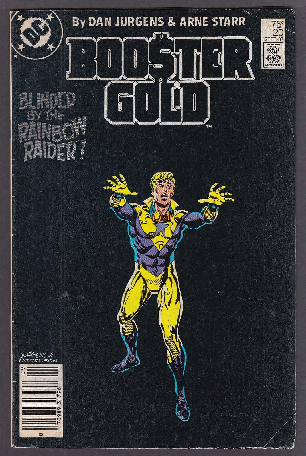 Booster Gold #20 DC comic book 9/1987