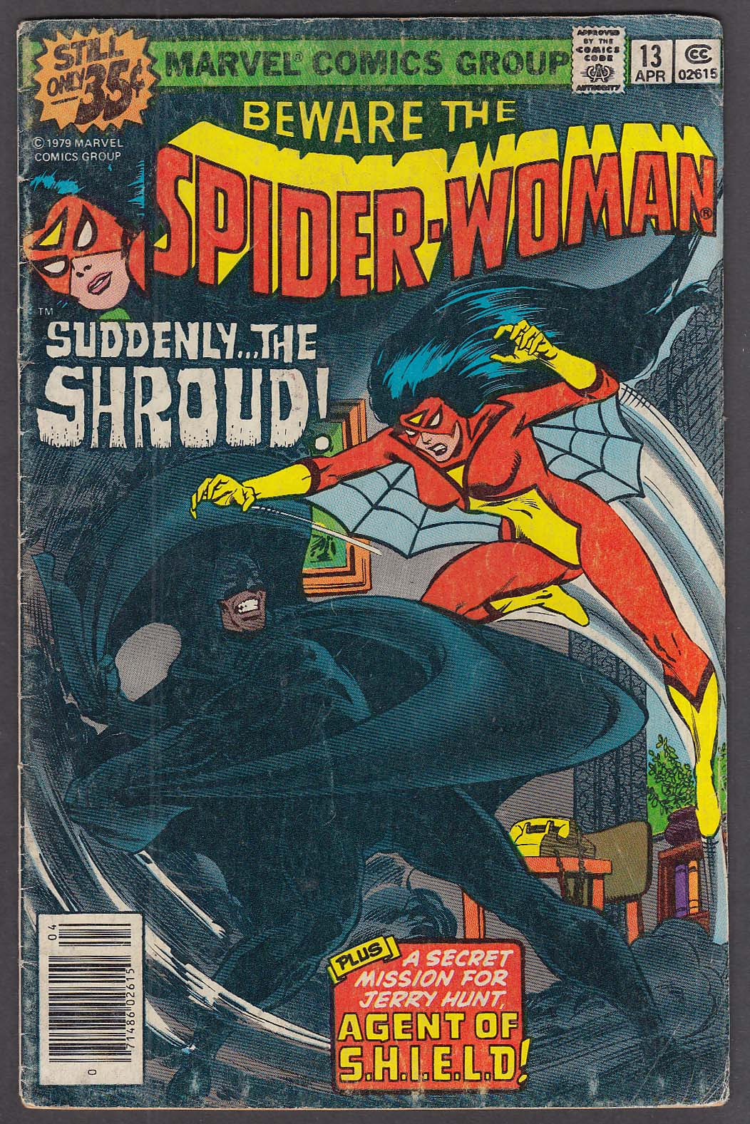 Image for SPIDER-WOMAN #13 Marvel comic book 4/1979