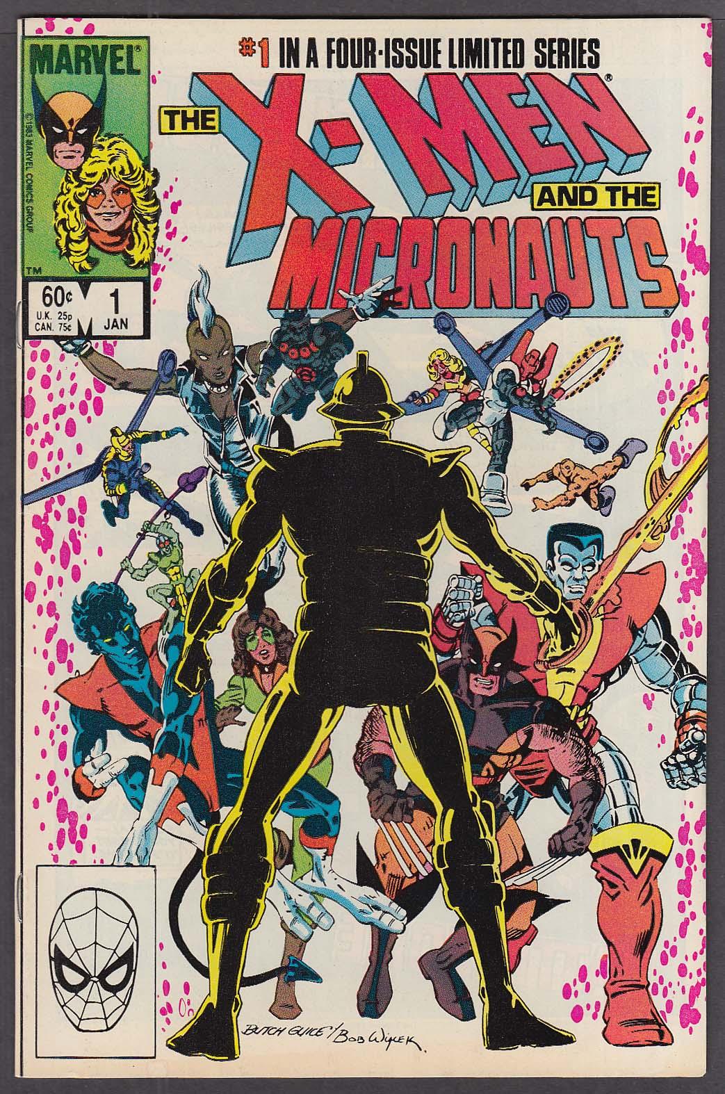 X-MEN & the MICRONAUTS #1 Marvel comic book 1 1984
