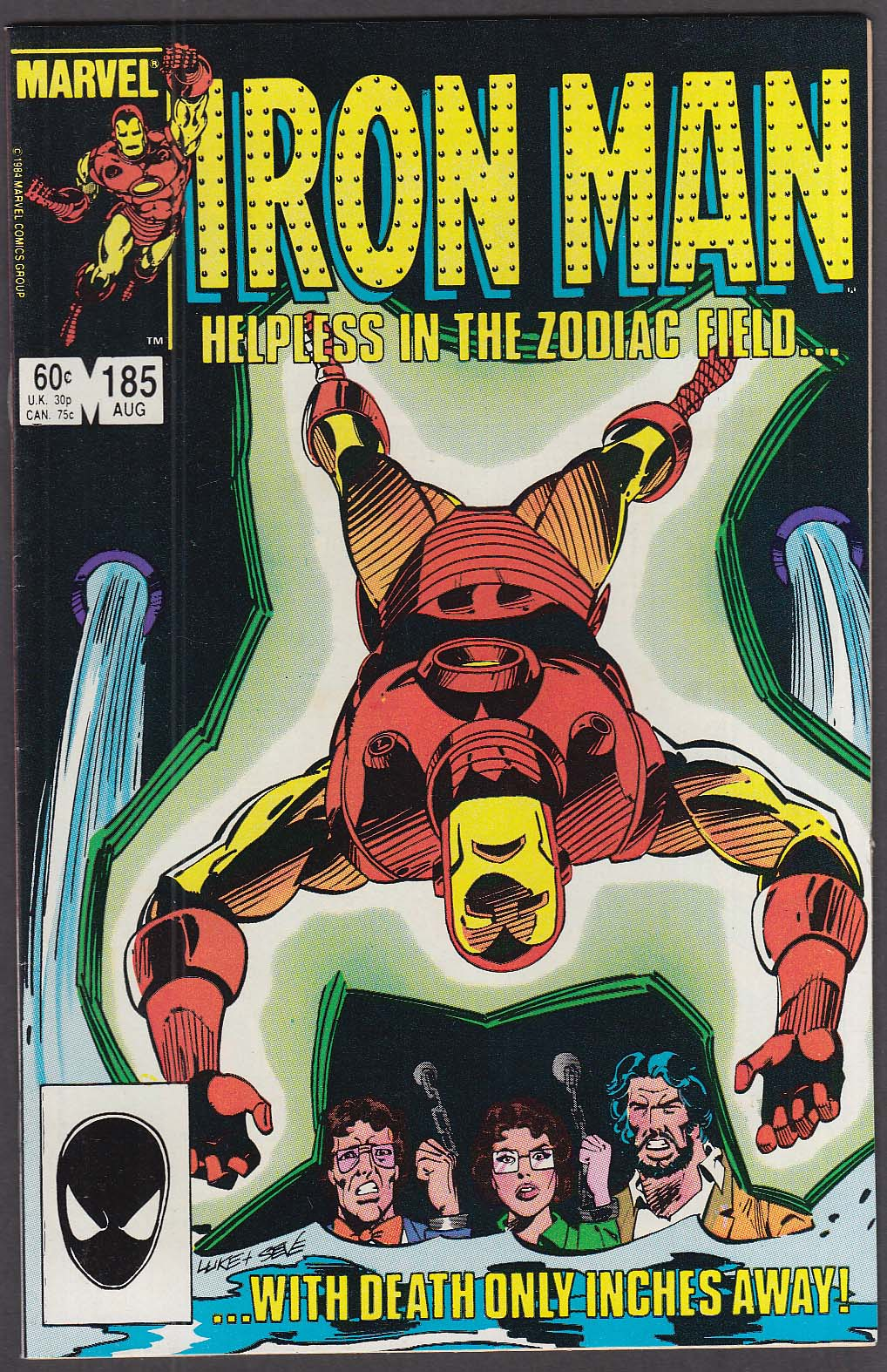 IRON MAN #185 Marvel comic book 8 1984