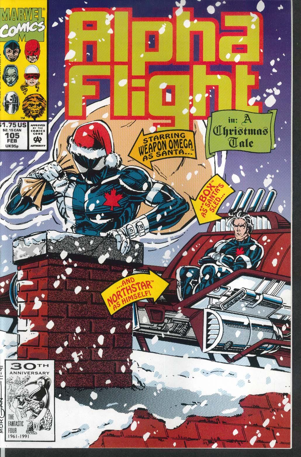 Image for ALPHA FLIGHT #105 Marvel comic book 2 1992