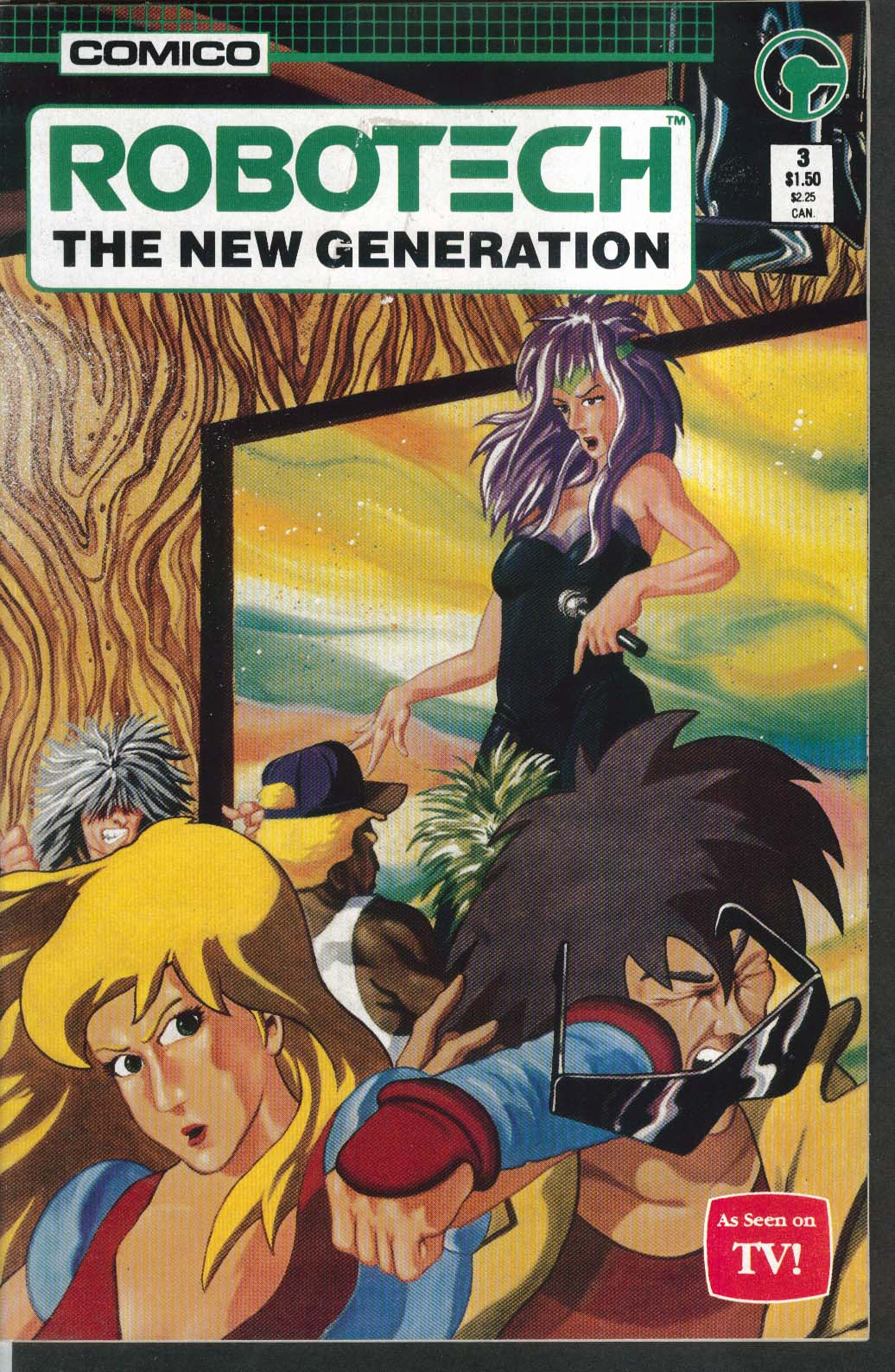 ROBOTECH New Generation #3 Comico comic book 10 1985
