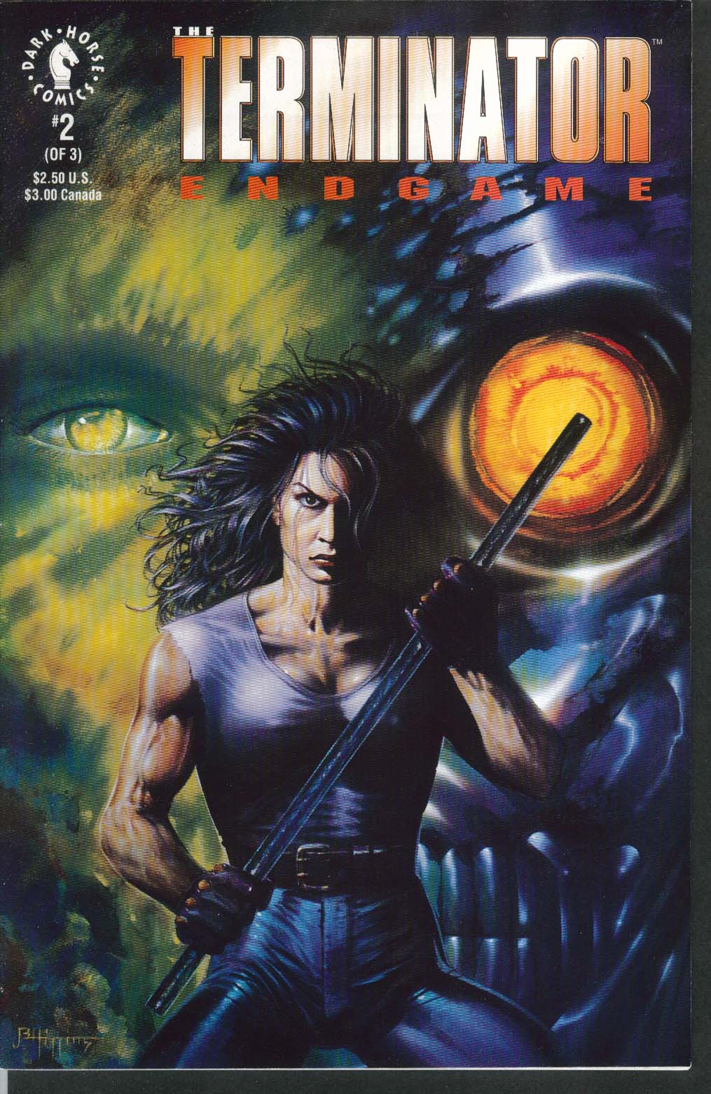 TERMINATOR ENDGAME #2 Dark Horse comic book 10 1992