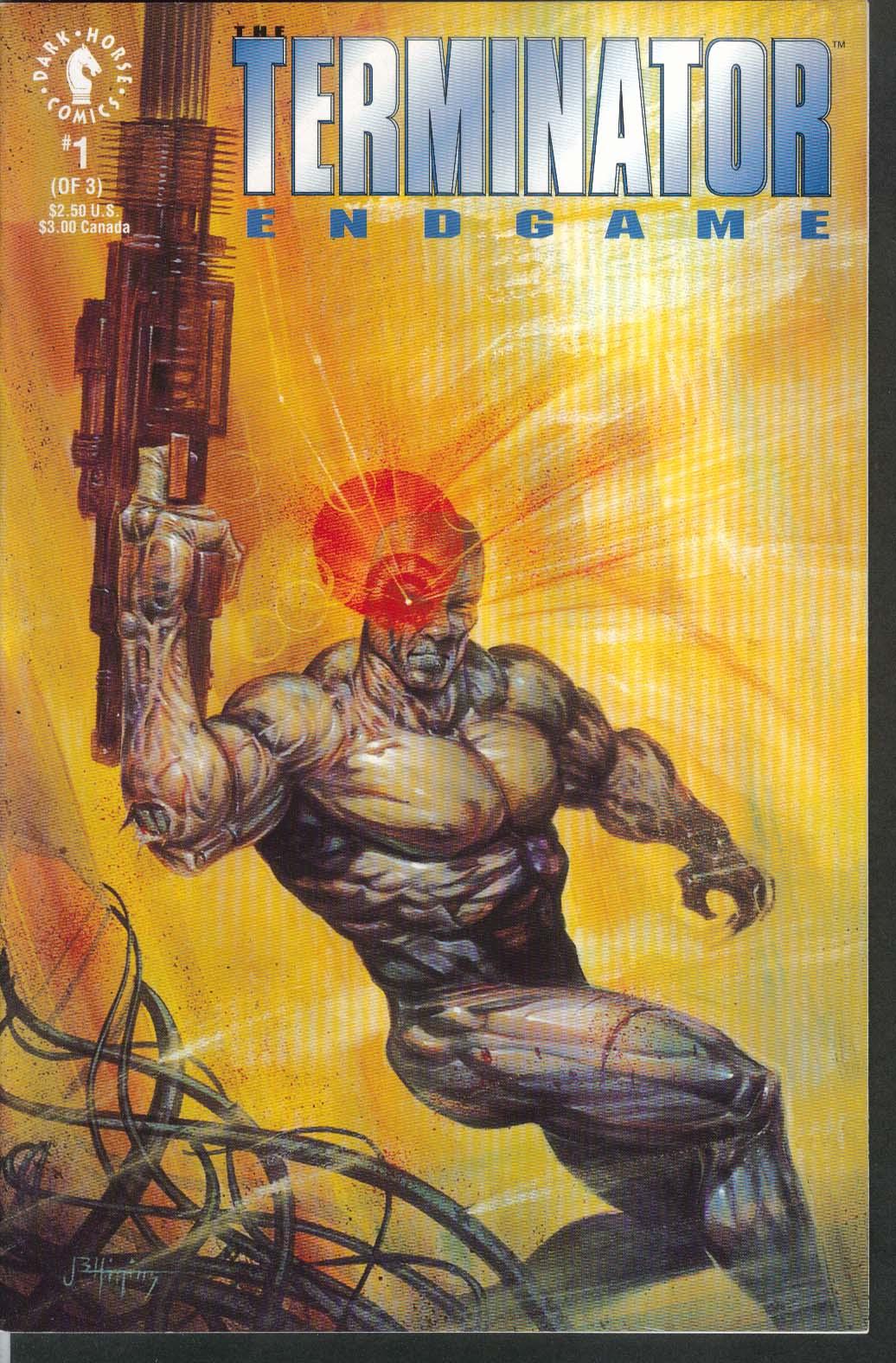TERMINATOR ENDGAME #1 Dark Horse comic book 9 1992