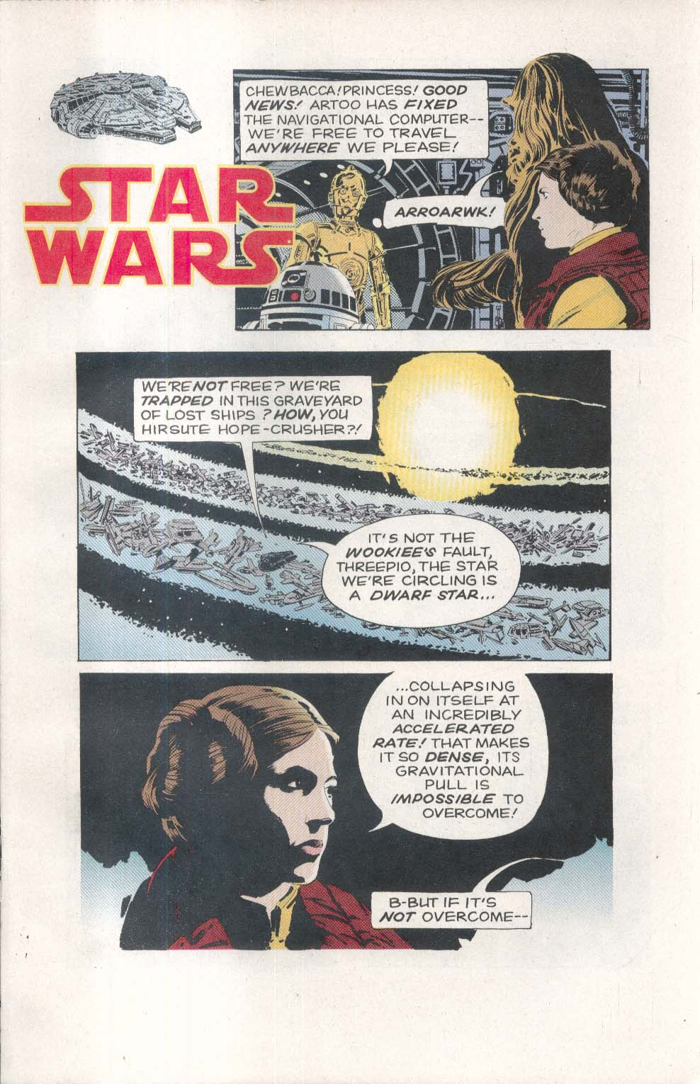 Classic STAR WARS #7 Dark Horse comic book 2 1993 Archie Goodwin Al Williamson