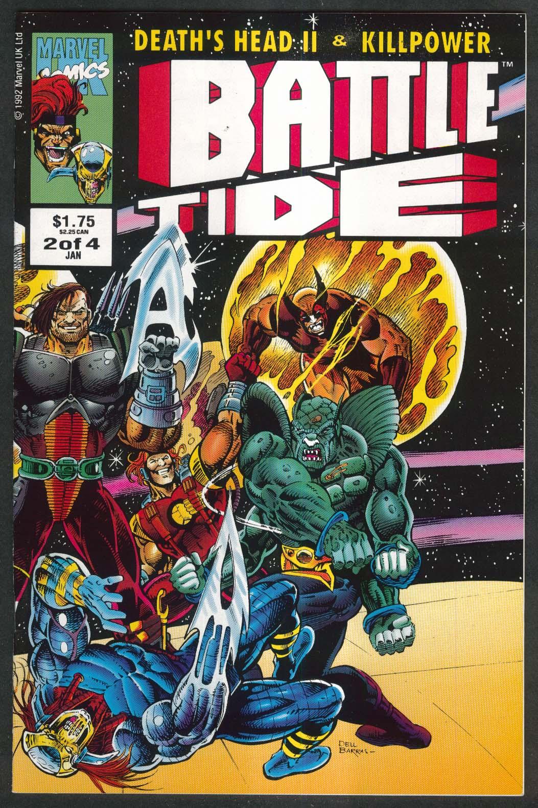 BATTLETIDE #2 Marvel comic book 1 1993