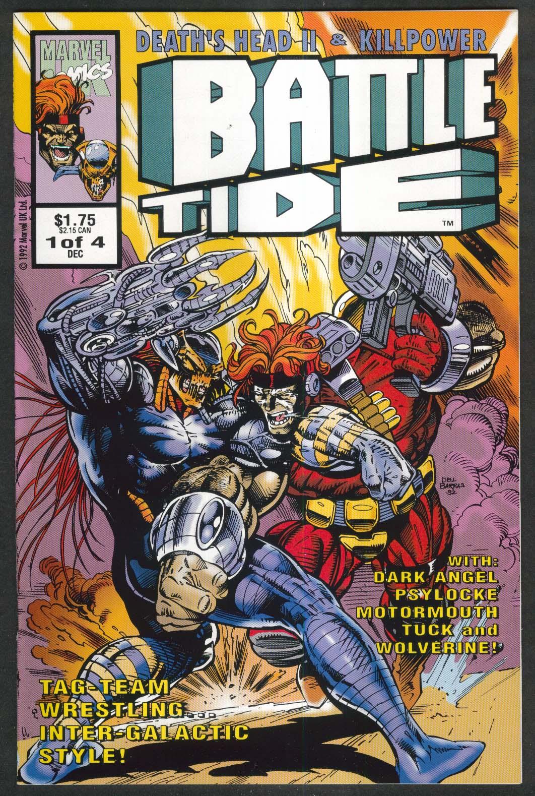 BATTLETIDE #1 Marvel comic book 12 1992