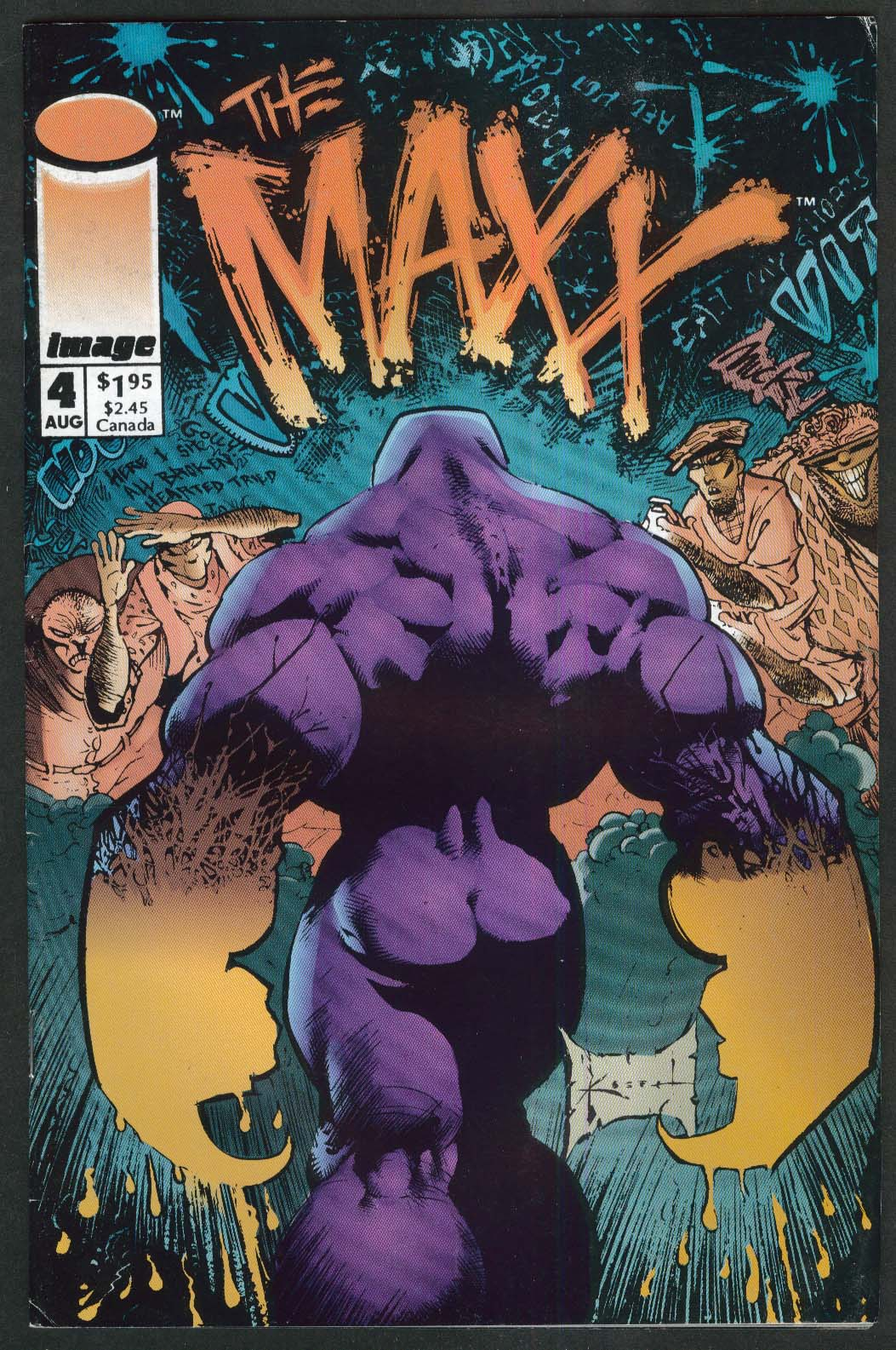 The MAXX #4 Image comic book 8 1993 1st Printing