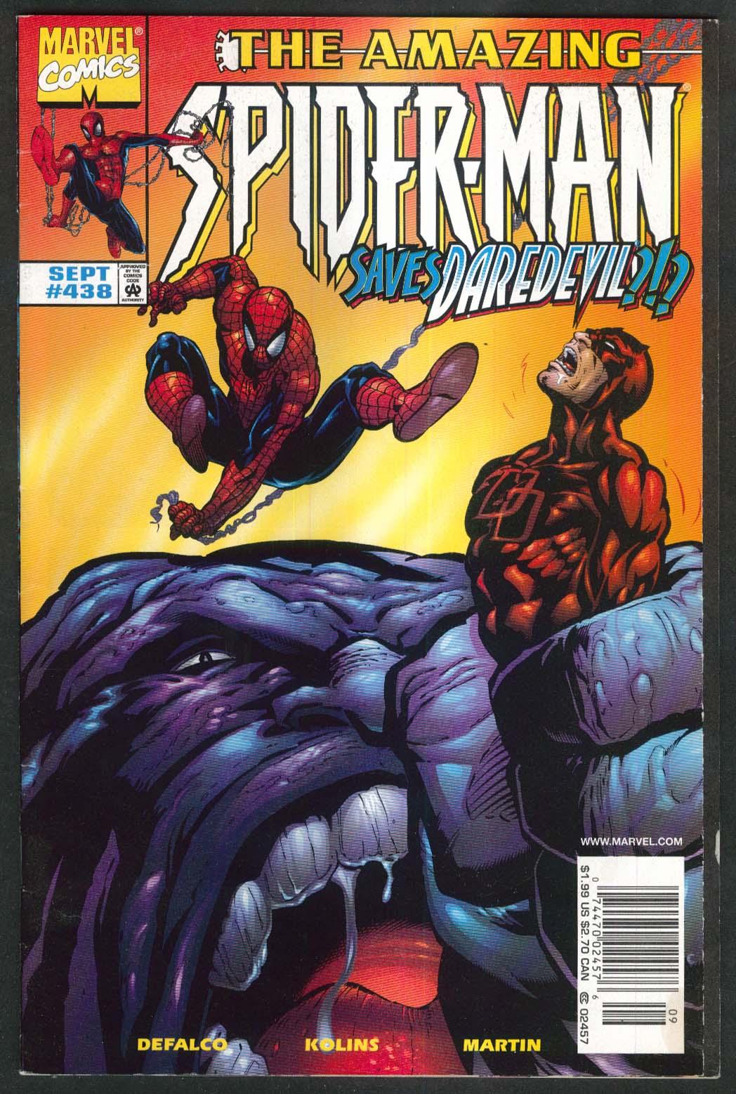 AMAZING SPIDER-MAN #438 Marvel comic book 9 1998