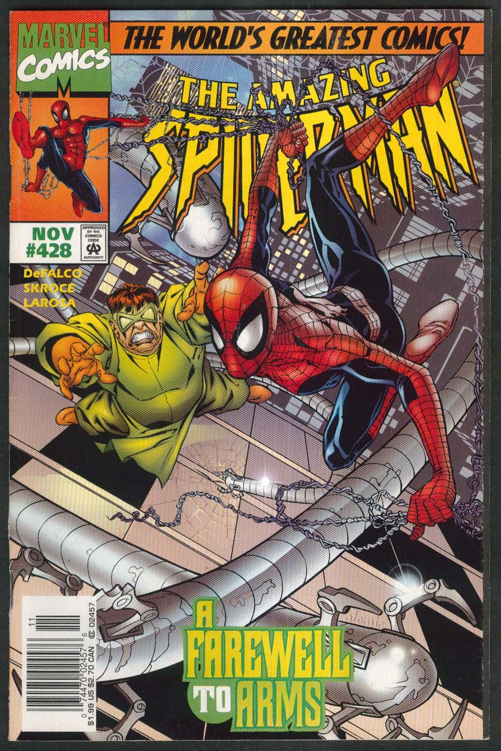 AMAZING SPIDER-MAN #428 Marvel comic book 11 1997