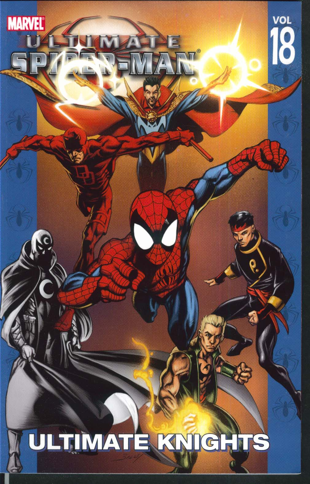ULTIMATE SPIDER-MAN Vol 18 Ultimate Knights Marvel Graphic Novel 1st 2007