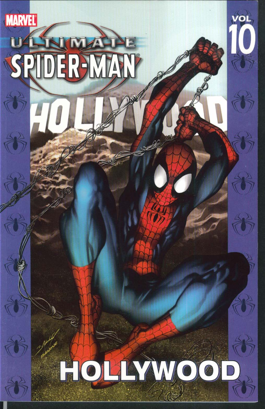 ULTIMATE SPIDER-MAN Vol 10 Hollywood Marvel Graphic Novel 2nd Printing 2004