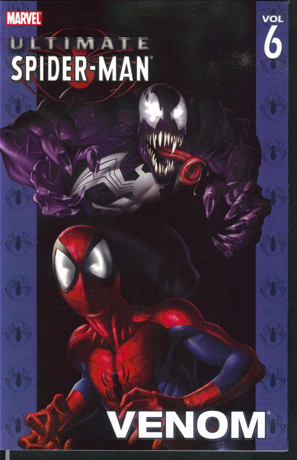 ULTIMATE SPIDER-MAN Vol 6 Venom Marvel Graphic Novel 4th Printing 2005