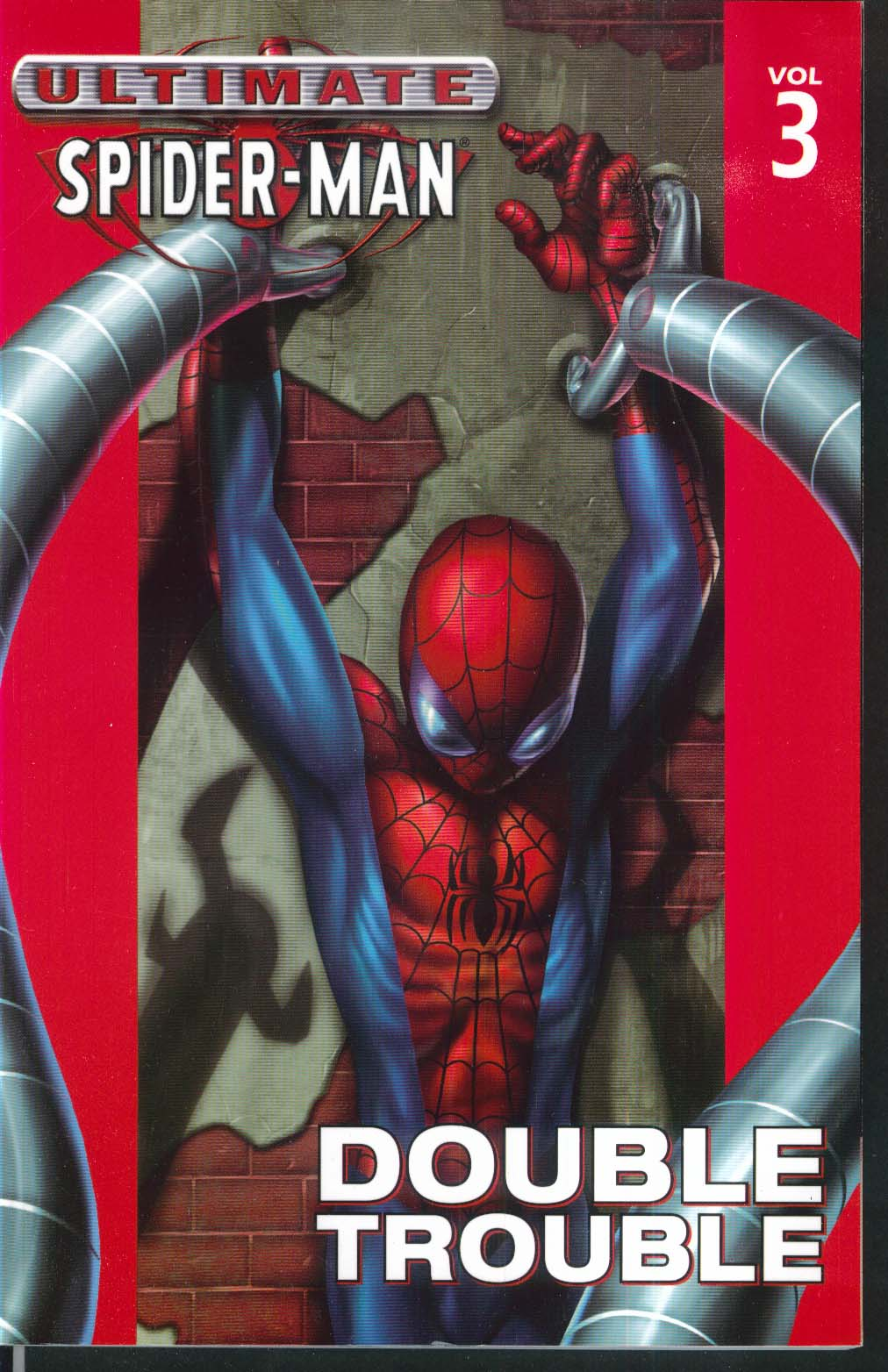 ULTIMATE SPIDER-MAN Vol 3 Double Trouble Marvel Graphic Novel 4th Printing 2004