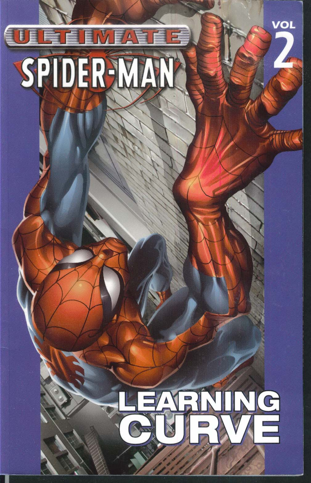 ULTIMATE SPIDER-MAN Vol 2 Learning Curve Marvel Graphic Novel 5th Printing 2004