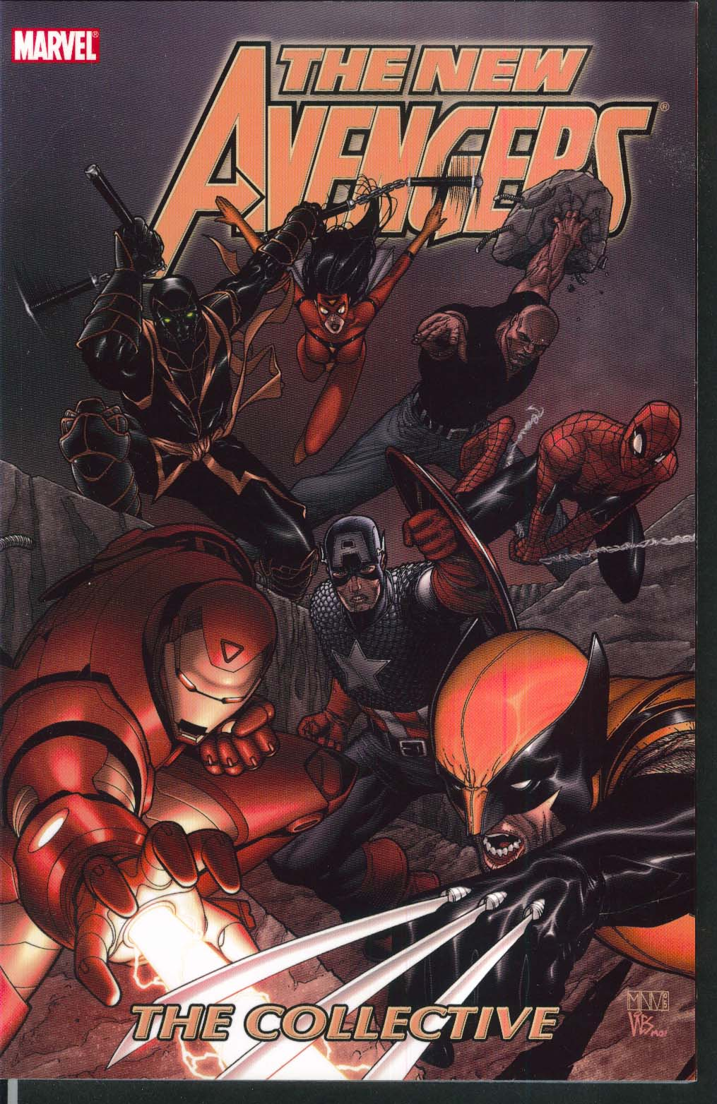 NEW AVENGERS Vol 4 Collective Marvel Graphic Novel 1st Printing 2007