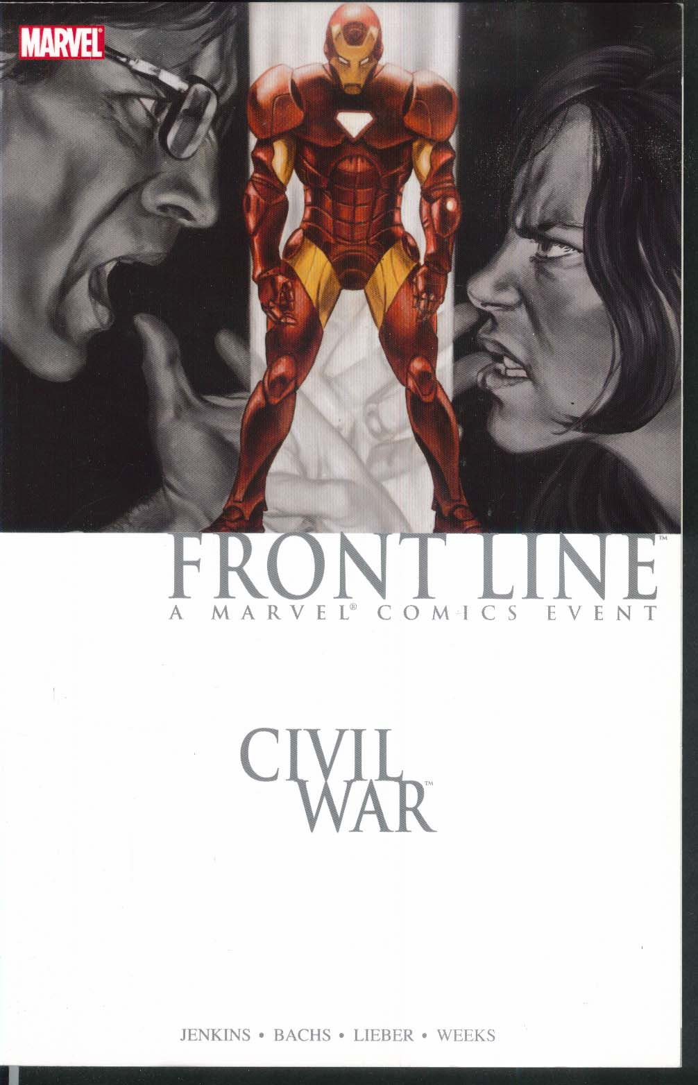 CIVIL WAR Front Line #2 Marvel Graphic Novel 1st Printing 2007