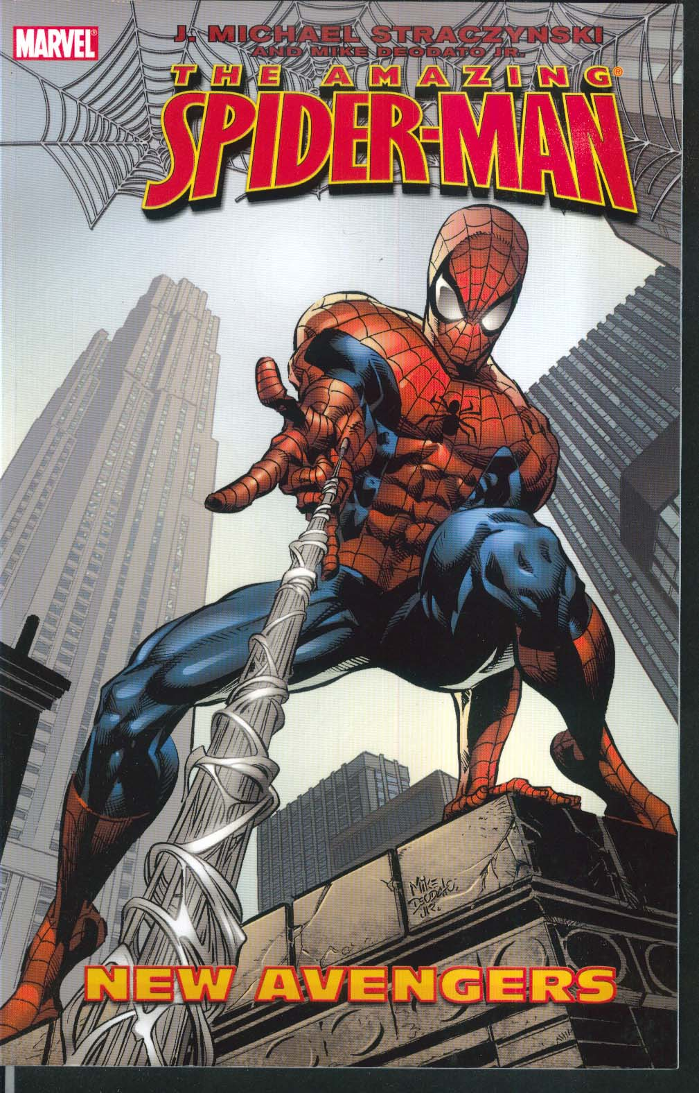 AMAZING SPIDER-MAN Vol 10 New Avengers Marvel Graphic Novel 1st Printing 2005