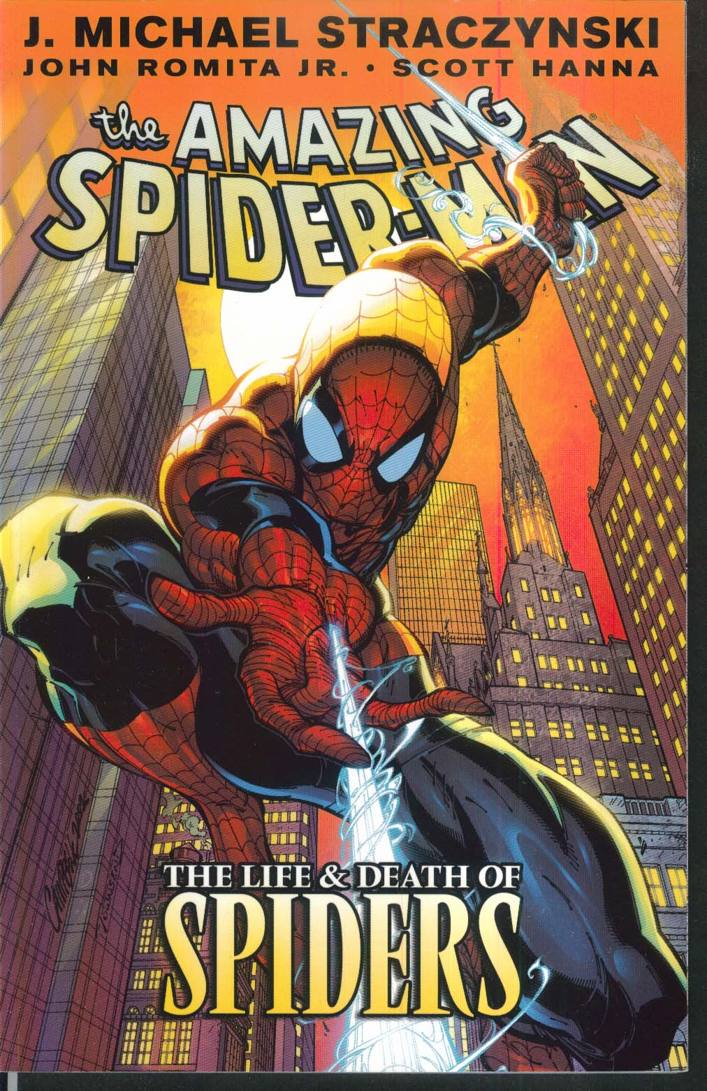 AMAZING SPIDER-MAN Vol 4 Life & Death Marvel Graphic Novel 2nd Printing 2004