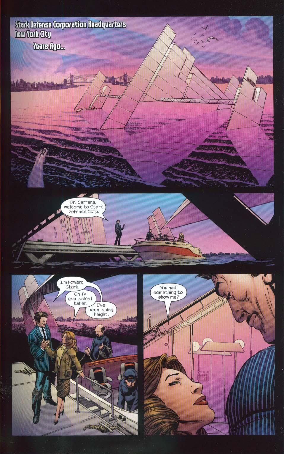 ULTIMATE IRON MAN Vol 1 Marvel Graphic Novel 1st Printing 2006