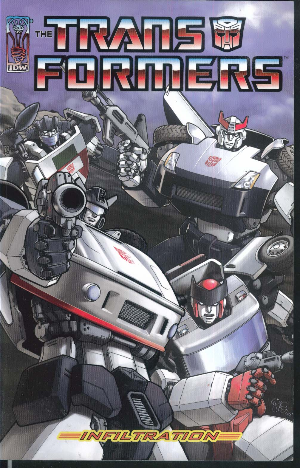 TRANSFORMERS Vol 1 Infiltration IDW Graphic Novel 2nd Printing 6 2007