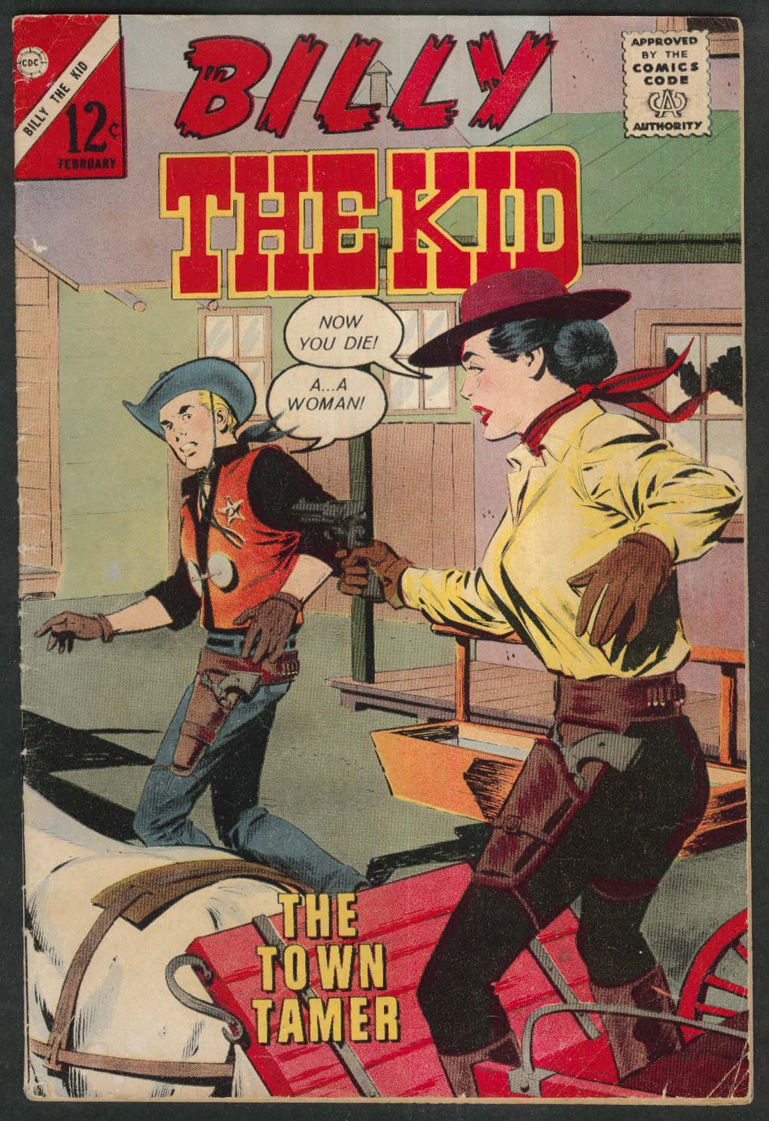 BILLY the KID #38 Charlton comic book 2 1963