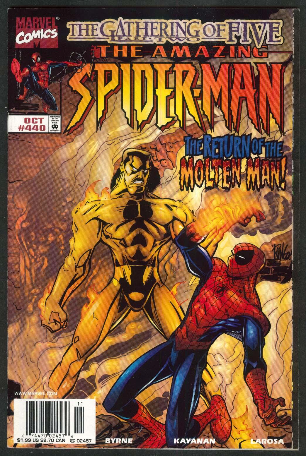 AMAZING SPIDER-MAN #440 Marvel comic book 10 1998