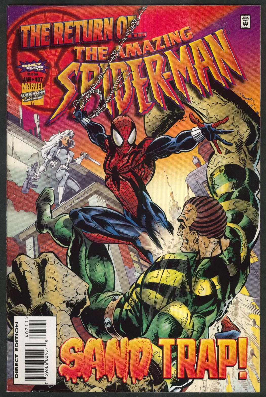 AMAZING SPIDER-MAN #407 Marvel comic book 1 1996