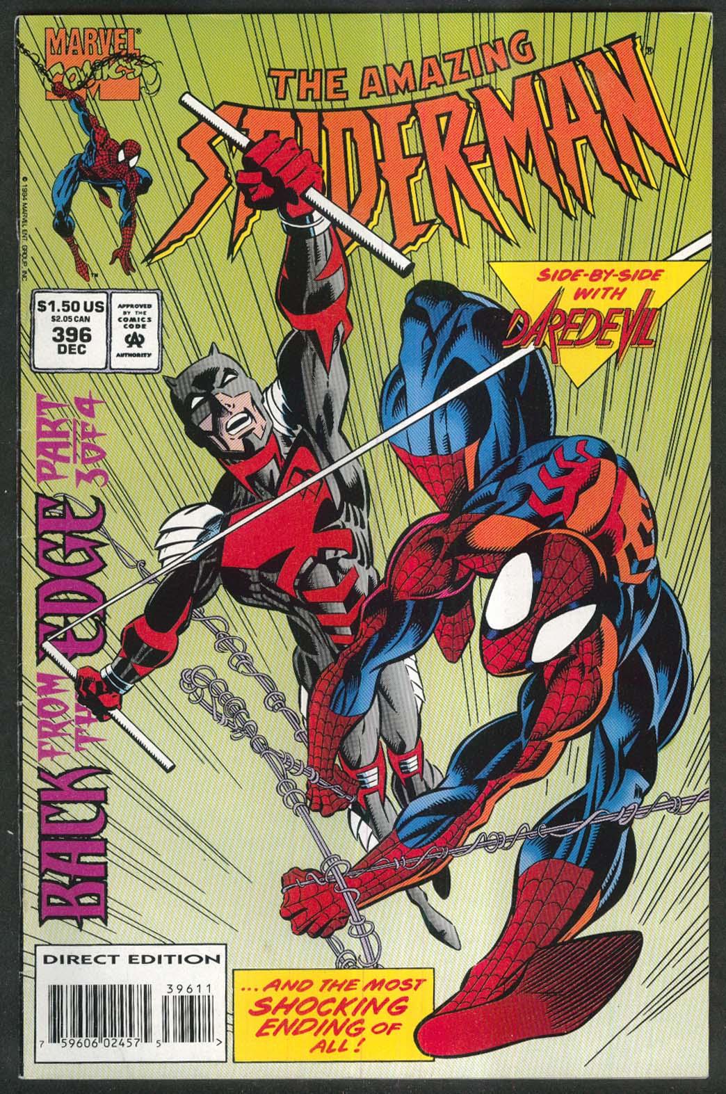 AMAZING SPIDER-MAN #396 Marvel comic book 12 1994 Daredevil