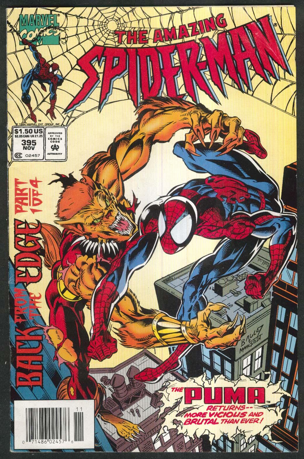 AMAZING SPIDER-MAN #395 Marvel comic book 11 1994
