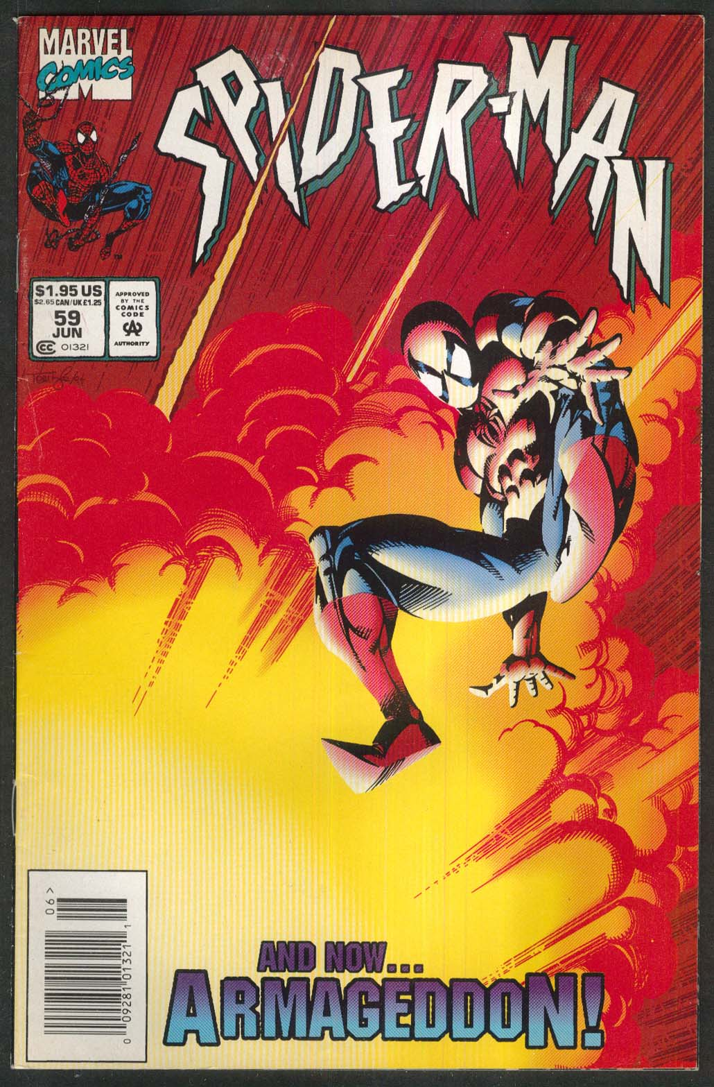 SPIDER-MAN #59 Marvel comic book 6 1995