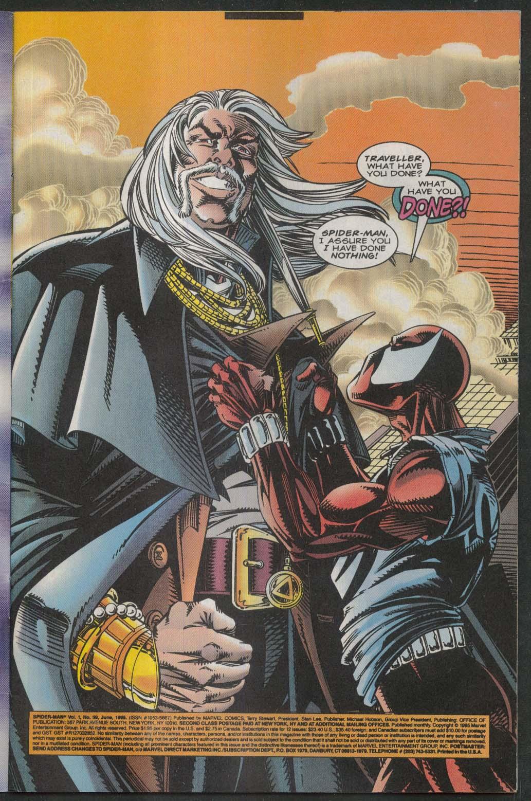 SPIDER-MAN #59 Marvel comic book 6 1995