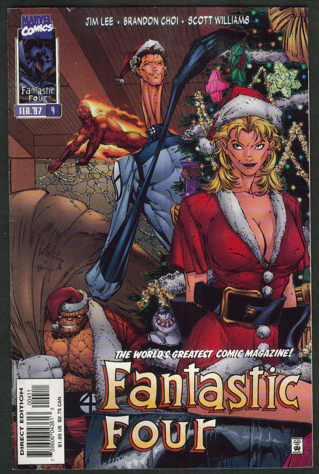 FANTASTIC FOUR #4 Marvel comic book 2 1997