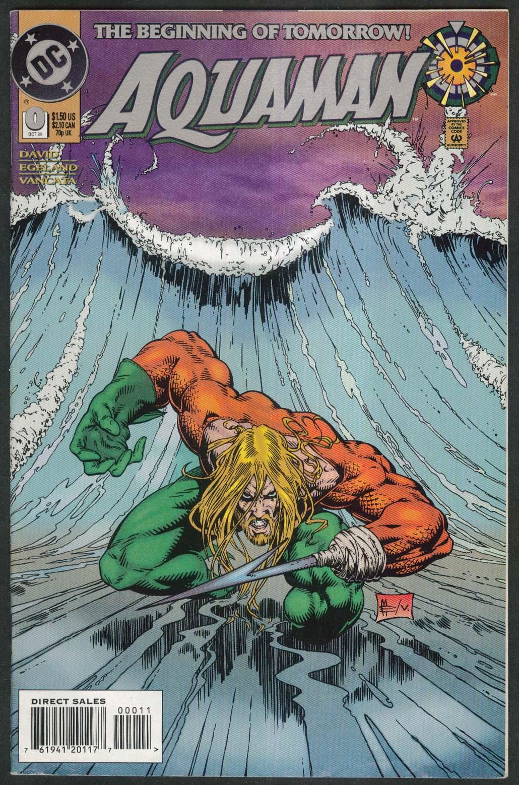 AQUAMAN #0 DC comic book 10 1994