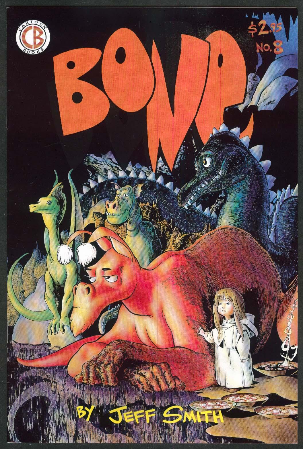 BONE #8 CB Cartoon Books comic book 12 1993 4th Printing