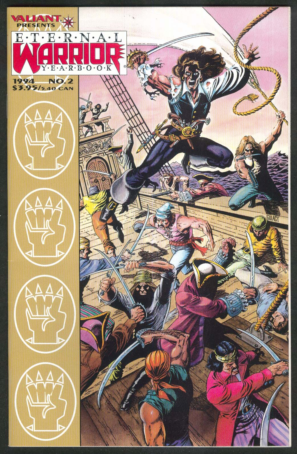 ETERNAL WARRIOR YEARBOOK #2 Valiant comic book 1994